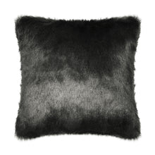 Load image into Gallery viewer, Dark Grey Faux Fur Cushion