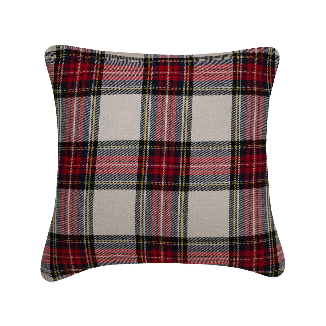 Plaid Cushion