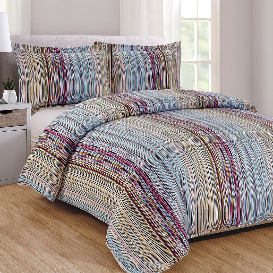 Rayas 3pc Duvet Cover Set