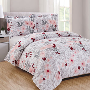 Rosalee 3pc Duvet Cover Set