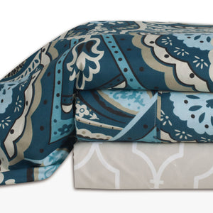 Paisley Printed Sheet Set