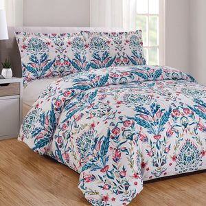 Tabitha 3pc Duvet Cover Set
