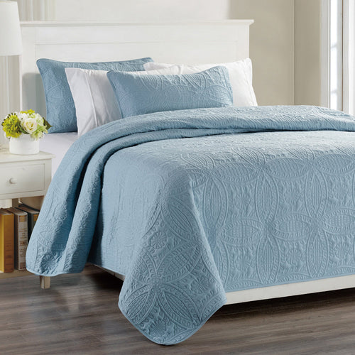 Millano Chambrey 3 Piece Quilt Set
