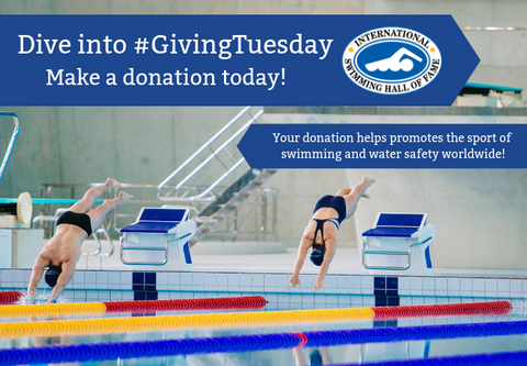 Swimming Hall of Fame Giving Tuesday