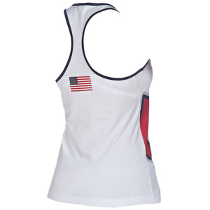arena Official USA Swimming National Team Women's Tank Top Tee Shirt ISHOF Swimming Hall of Fame Swimming World