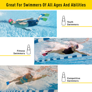 FINIS Long Floating Fins ISHOF Swimming Hall of Fame Swimming World