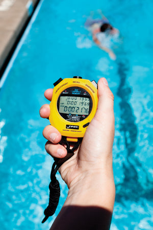 3X300M Stopwatch FINIS  ISHOF Swimming Hall of Fame Swimming World