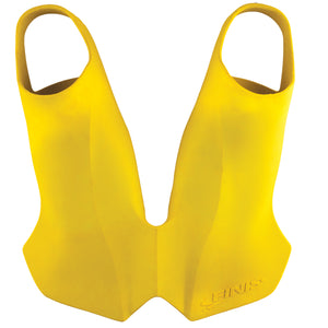FINIS Evo Monofin Yellow ISHOF Swimming Hall of Fame Swimming World
