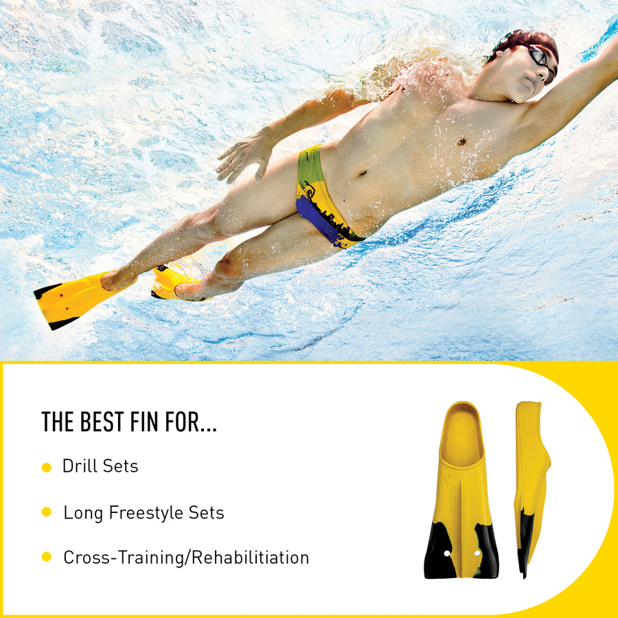 FINIS Z2 Gold Zoomers Fins ISHOF Swimming Hall of Fame Swimming World