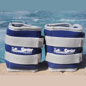 Sprint Aquatics Ankle Weights - 5lb Set