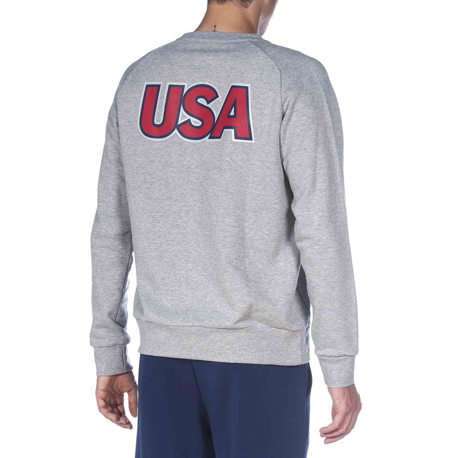 Arena USA Swimming National Crewneck Sweatshirt back