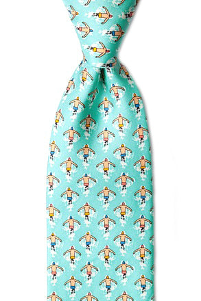 Silk Butterfly Stroke Tie ISHOF Swimming Hall of Fame Swimming World