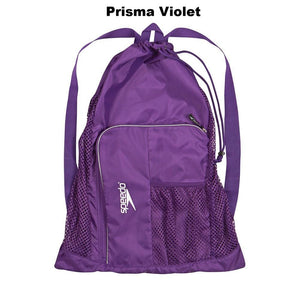 Speedo Deluxe Ventilator Mesh Bag ISHOF Swimming Hall of Fame Swimming World purple