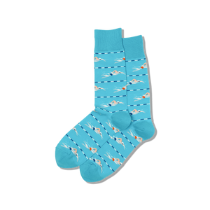 Swimmer Crew Socks