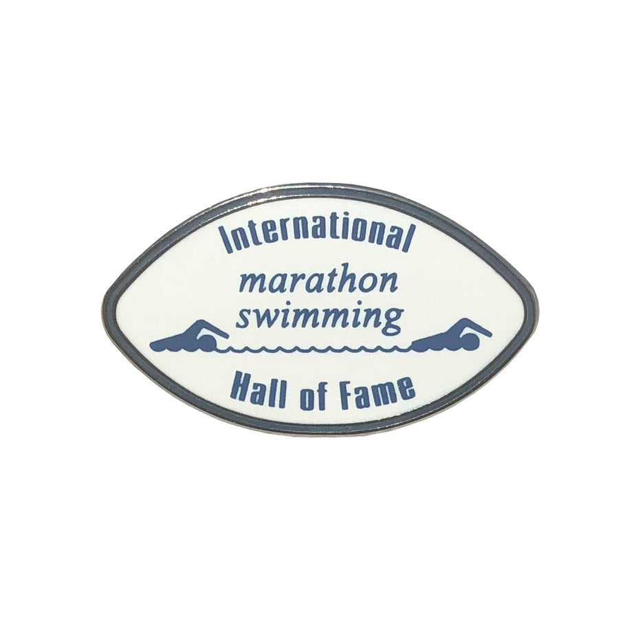 International Marathon Swimming Hall of Fame Pin