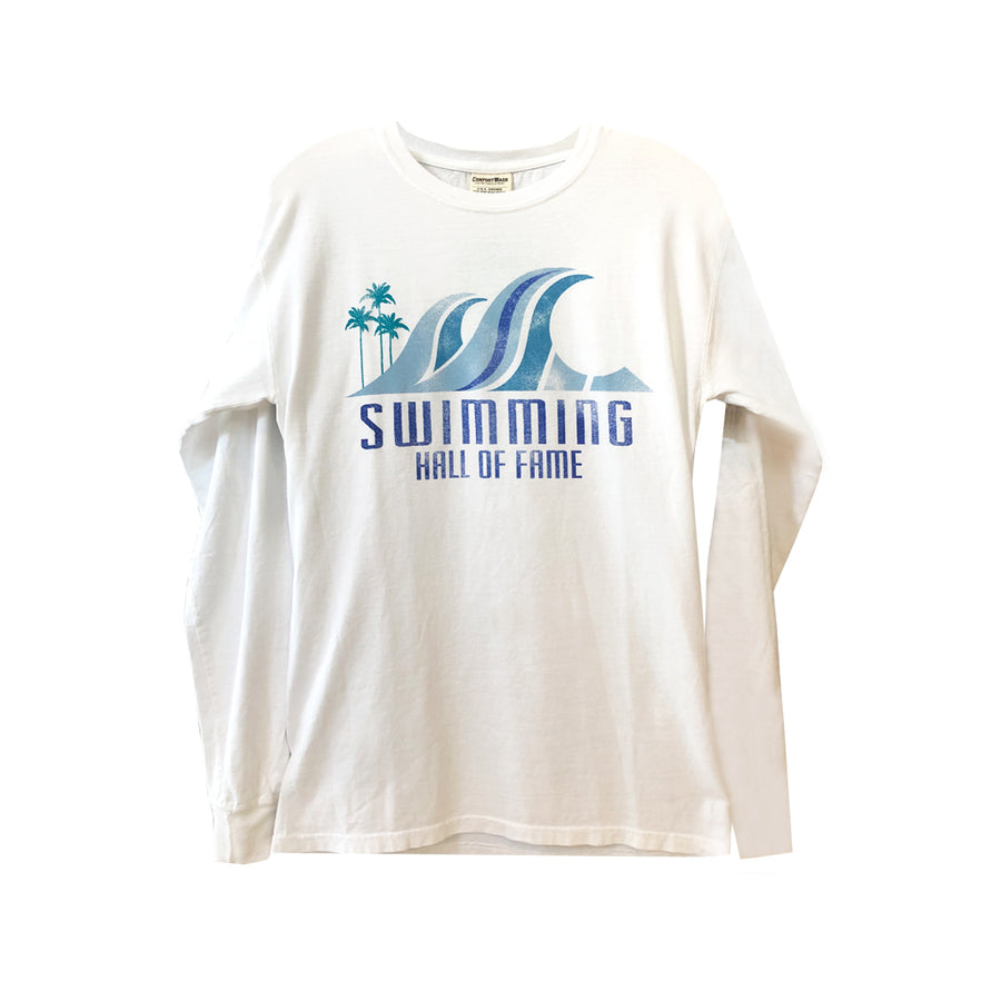 Swimming Hall of Fame Long Sleeve T-Shirt