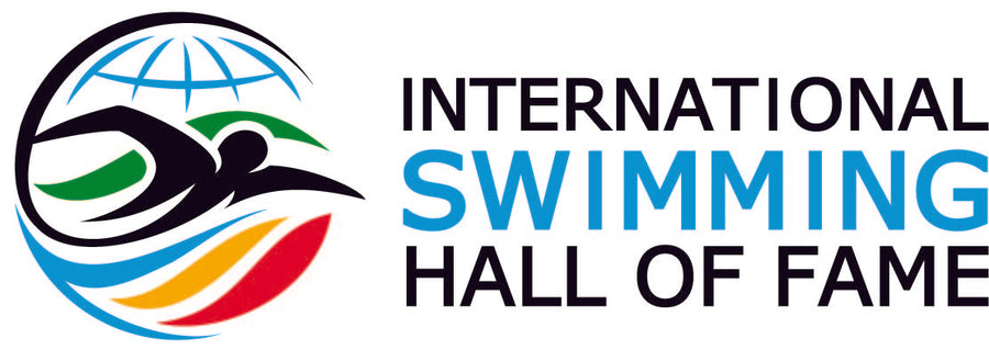 New Logo ISHOF Sticker Horizontal ISHOF Swimming Hall of Fame Swimming World