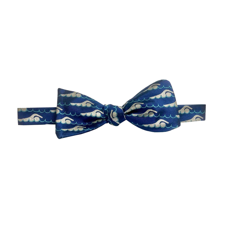 ISHOF Swimmer Silk Bow Tie