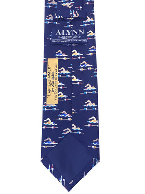 Silk Lap Swimmer Tie ISHOF Swimming Hall of Fame Swimming World