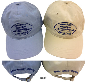 international marathon swimming hall of fame hat apparel IMSHOF ISHOF swimming hall of fame swimming world