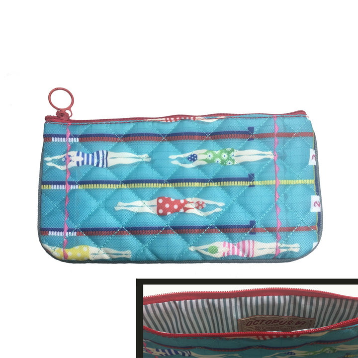 Quilted Medium Zipper Pouch