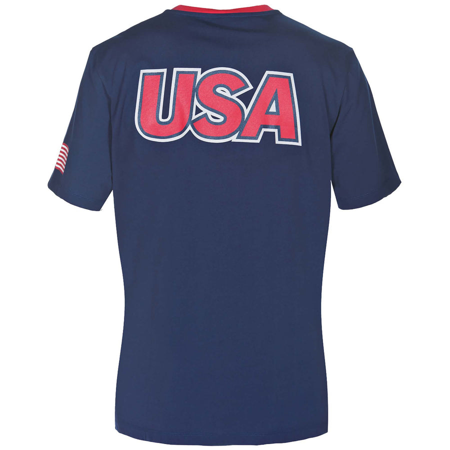 Official USA Swimming National Team Crewneck T-Shirt