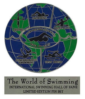 World of Swimming Limited Edition Pin Set