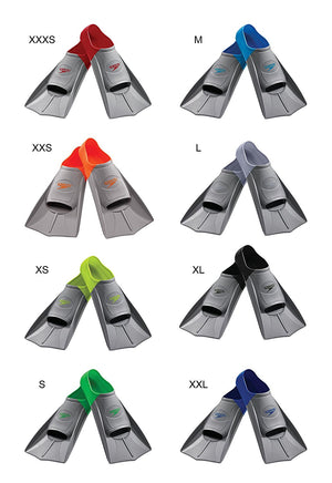Speedo Short Blade Swim Training Fins ISHOF Swimming Hall of Fame Swimming World