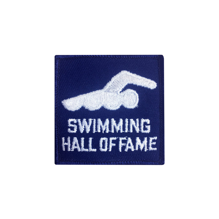 Vintage Swimming Hall of Fame Patch