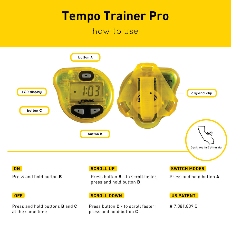 FINIS Tempo Trainer Pro ISHOF Swimming Hall of Fame Swimming World