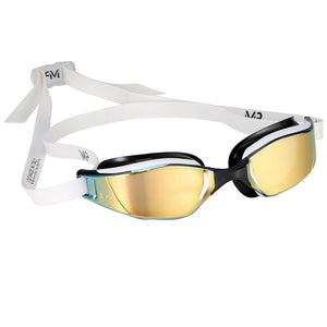 Aqua Sphere MP Michael Phelps XCEED Titanium Mirrored Goggles ISHOF Swimming Hall of Fame Swimming World