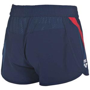 arena Official USA Swimming National Team Women's Shorts ISHOF Swimming Hall of Fame Swimming World