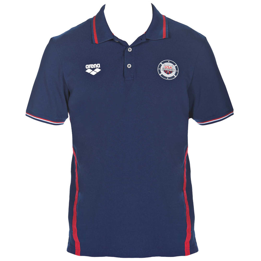arena Official USA Swimming National Team Polo Shirt ISHOF Swimming Hall of Fame Swimming World