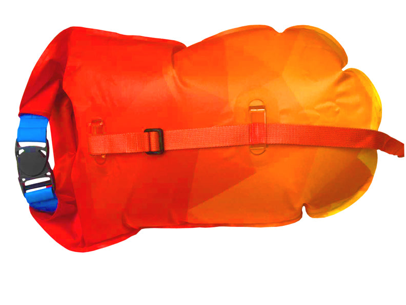 SaferSwimmer Sunrise 20L TPU Safer Swimmer ISHOF Swimming Hall of Fame Swimming World