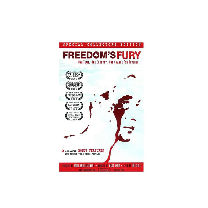Freedom's Fury DVD Movie ISHOF Swimming Hall of Fame Swimming World