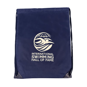 New Logo ISHOF Nylon Drawstring Backpack