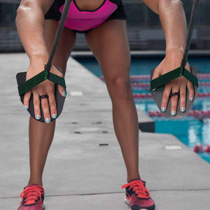 Strechcordz with Paddles S101 ISHOF Swimming Hall of Fame Swimming World