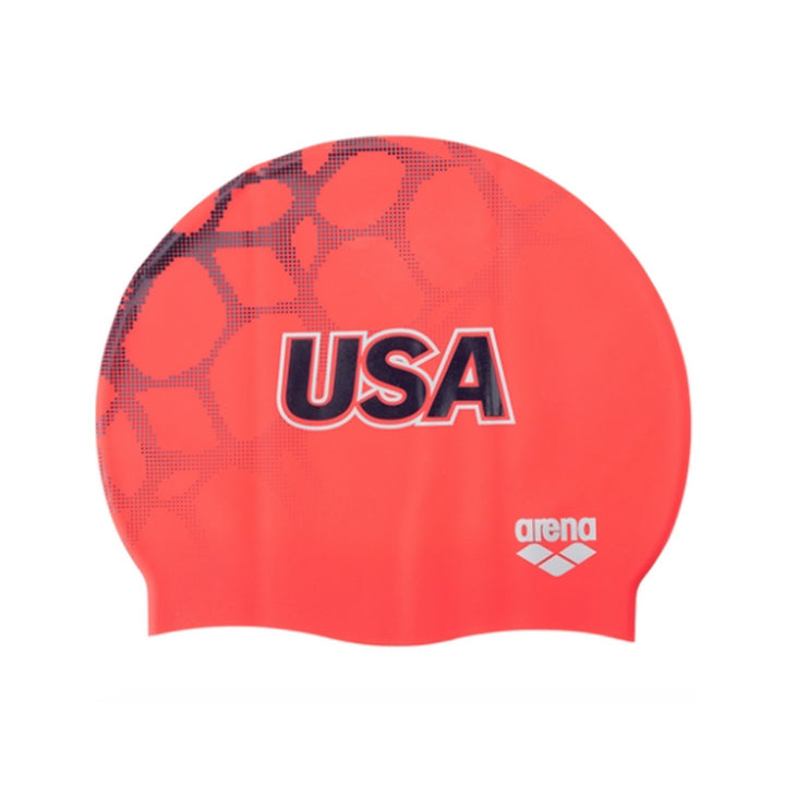 arena Official USA Swimming National Team Silicone Cap ISHOF Swimming Hall of Fame Swimming World