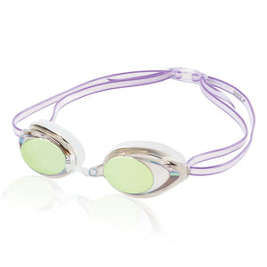 Speedo Women's Vanquisher 2.0 Mirrored Goggles ISHOF Swimming Hall of Fame Swimming World