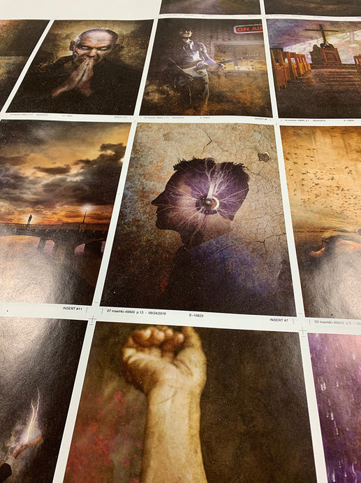 Sneak Peek Behind the Scenes of the REVIVAL Limited Edition Printing!