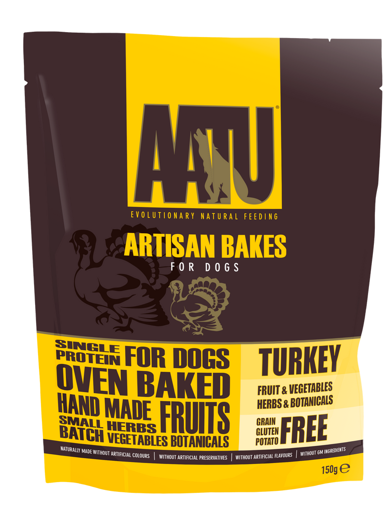 Aatu grain free chicken dry dog food 10kg