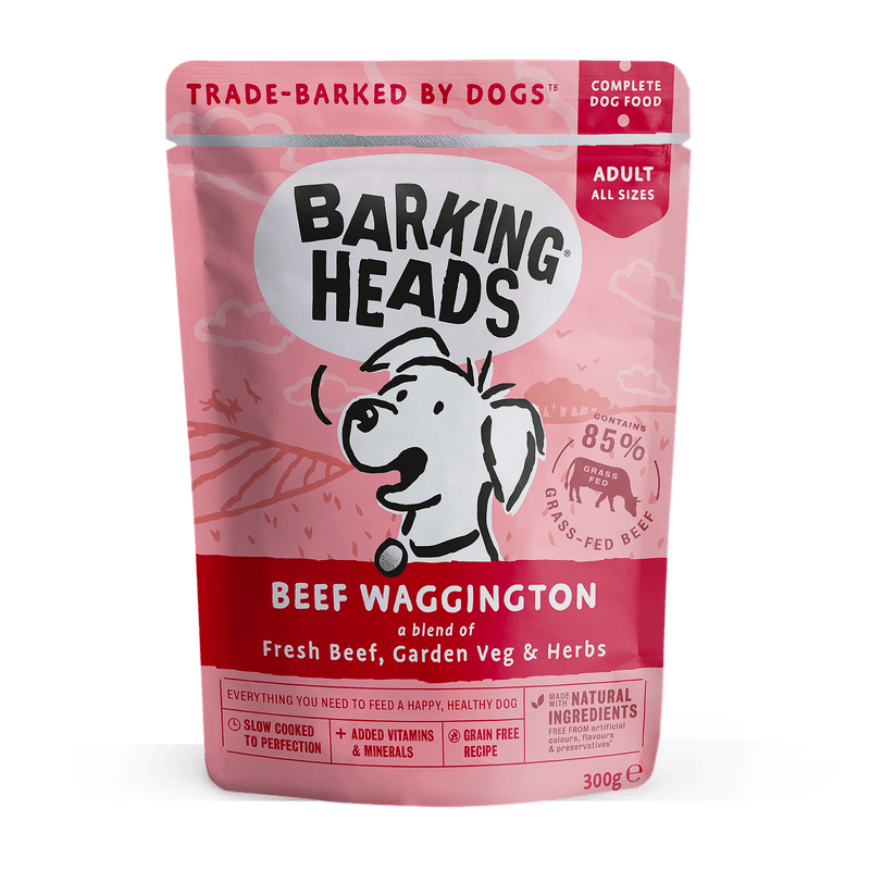 Barking Heads Beef Waggington Wet Dog Food