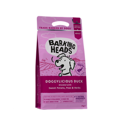 Barking Heads Dry Dog Food Duck 2kg