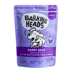 Barking Heads Puppy Food Wet Pouches