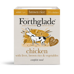 Forthglade Chicken with Brown Rice and Vegetables