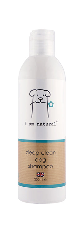 i am natural 250ml deep cleaning shampoo for dogs