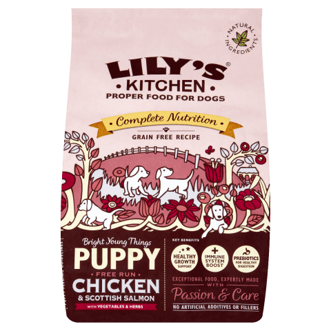 Lily's Kitchen Delicious Chicken & Salmon Dry Puppy Food