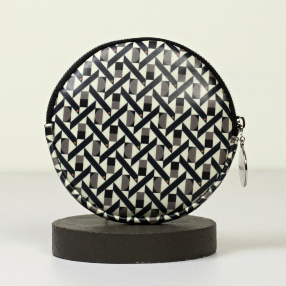 ROUND PURSE (MEDIUM) - MONTE CARLO