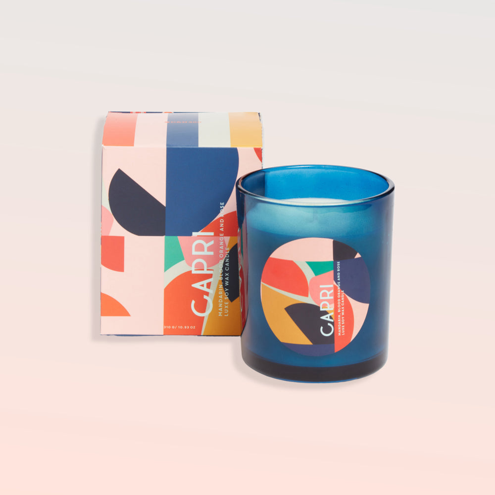RESORT LUXE CANDLE - CAPRI