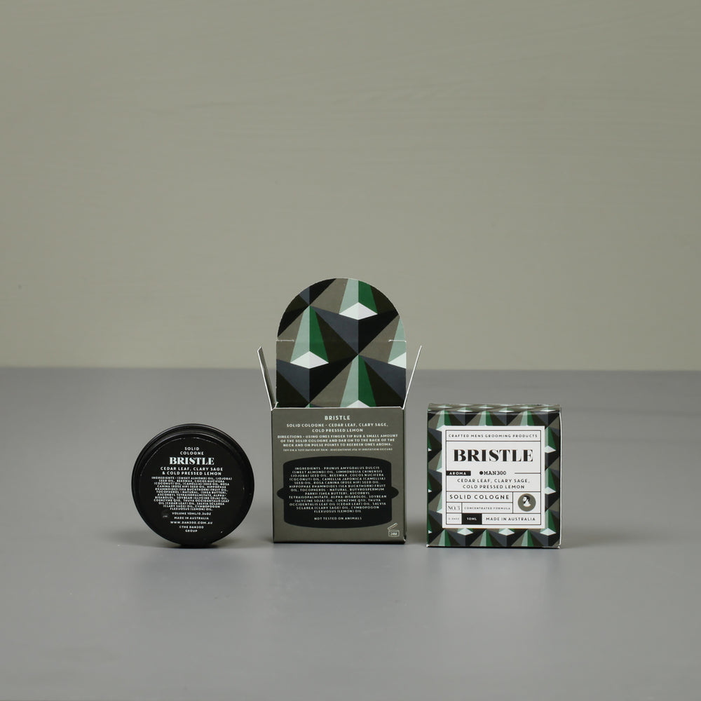 MAN300 SOLID COLOGNE - BRISTLE